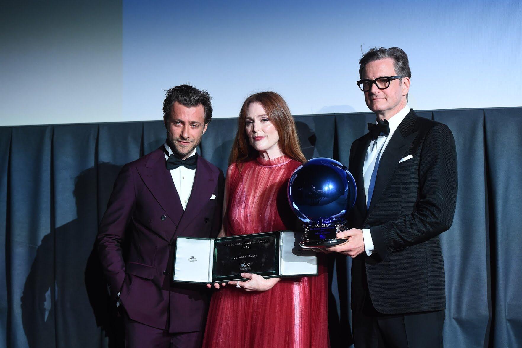 Venezia 2017 - Franca Sozzani award - Colin Firth - Grooming Massimo Serini