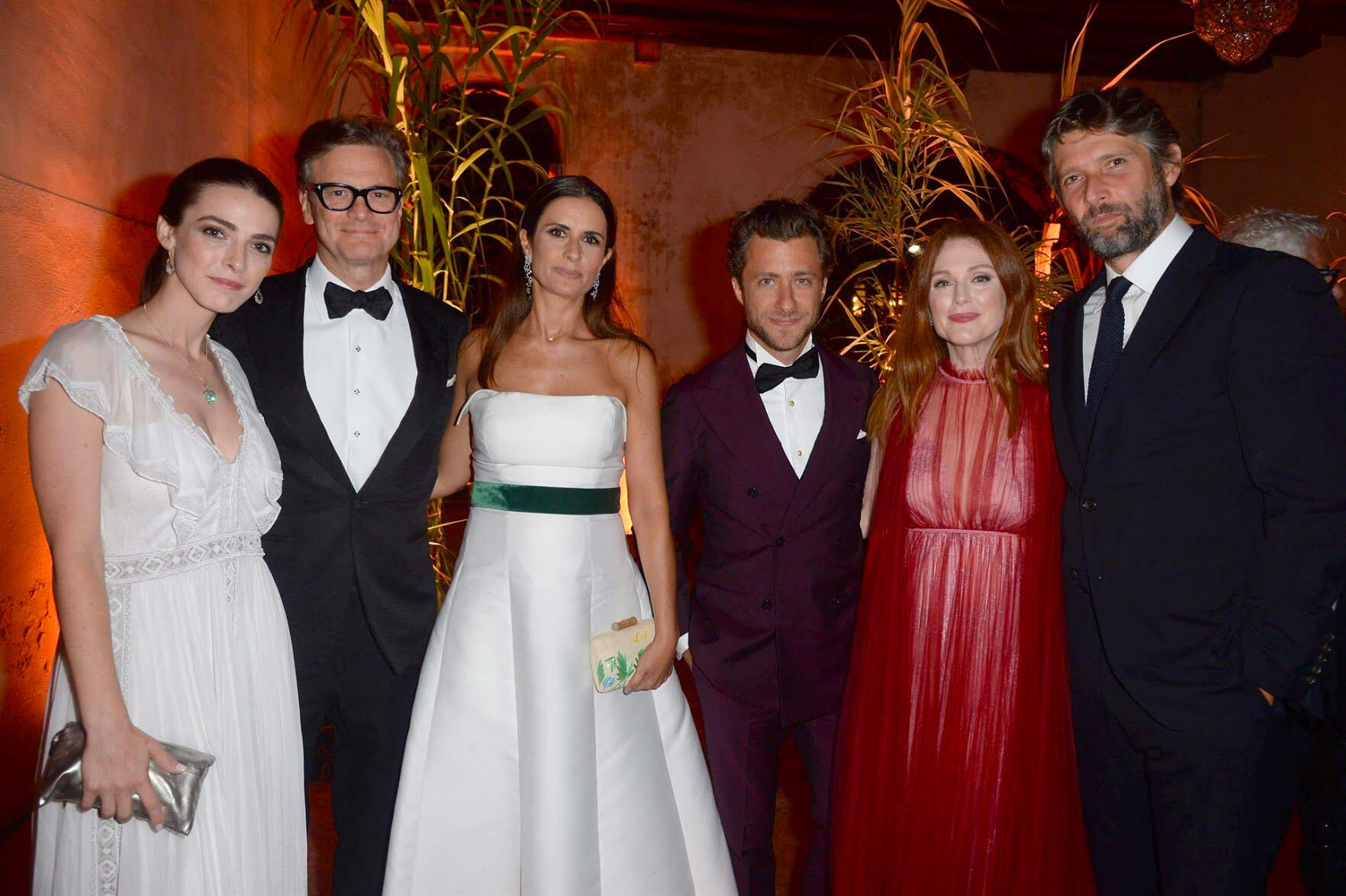 Venezia 2017 - Franca Sozzani award - Colin and Livia Firth - Hair Massimo Serini