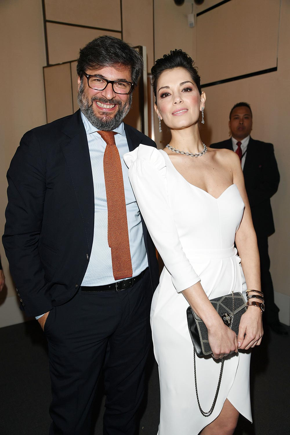 Bulgari Basel Press Party - Giorgia Surina - Hair & makeup Massimo Serini
