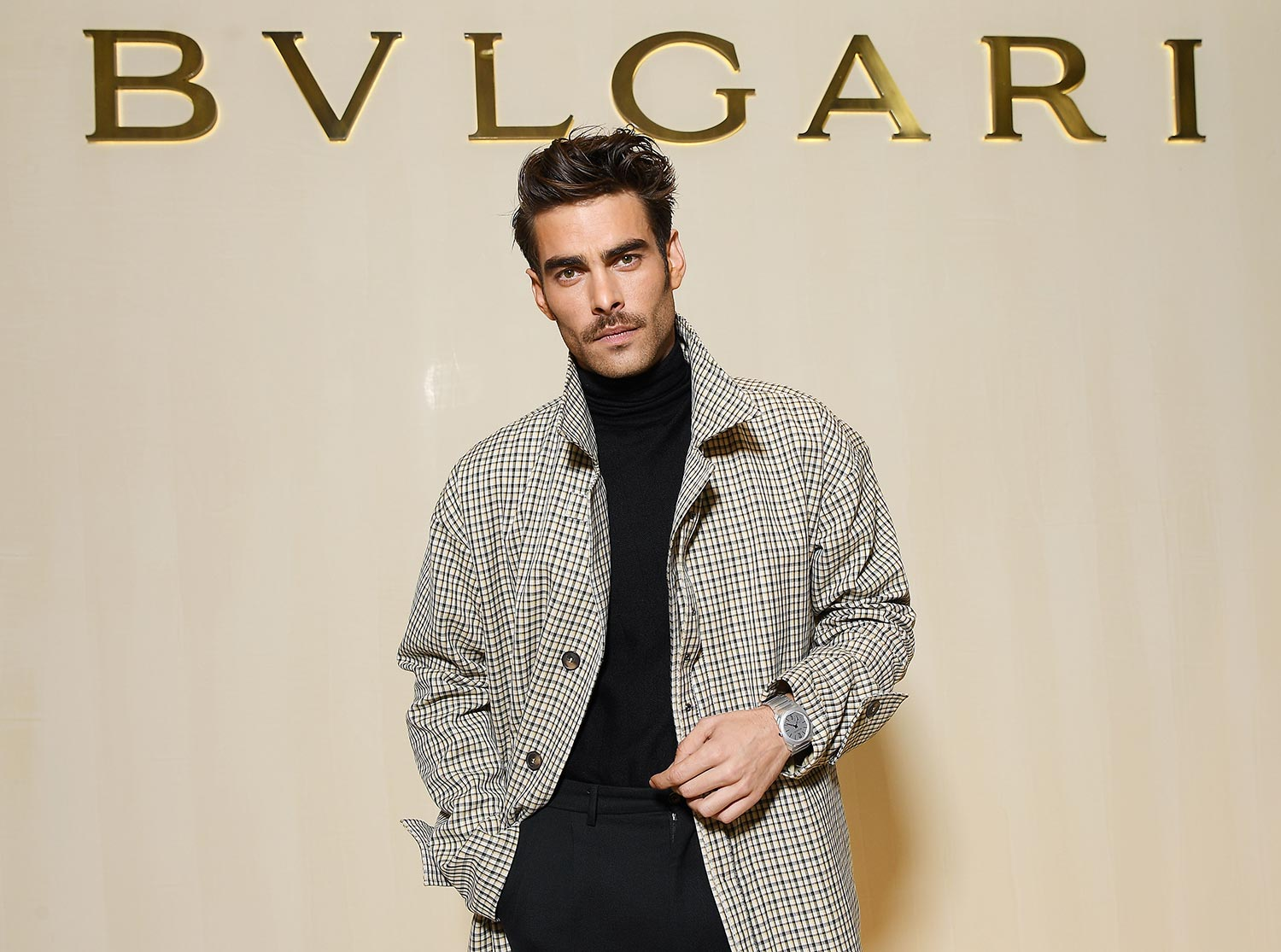 Bulgari Basel Press Party - Jon Kortajarena - Grooming Massimo Serini
