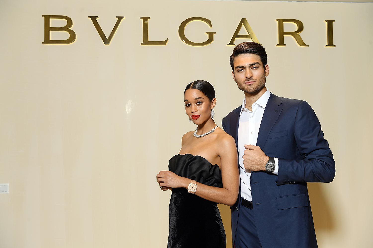 Bulgari Basel Press Party - Laura Harrier, Matteo Bocelli - Hair & makeup Massimo Serini