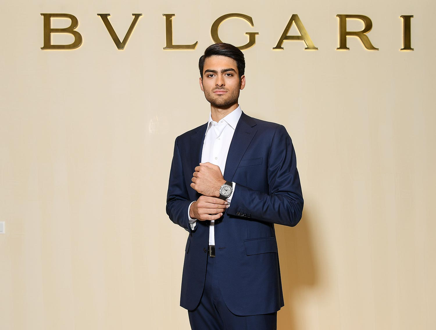Bulgari Basel Press Party - Matteo Bocelli - Grooming Massimo Serini