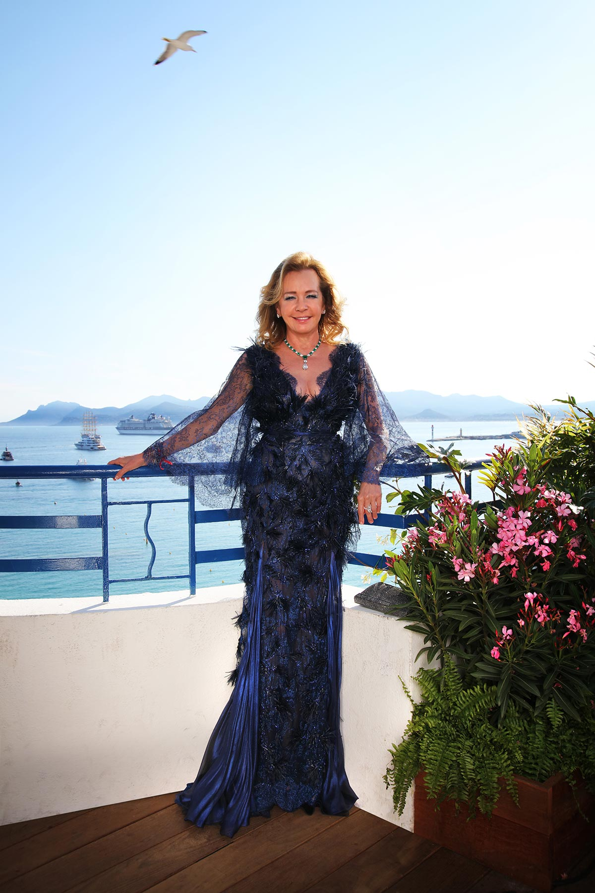 Cannes 2018 - Closing Ceremony - Caroline Scheufele - Hair and makeup Massimo Serini