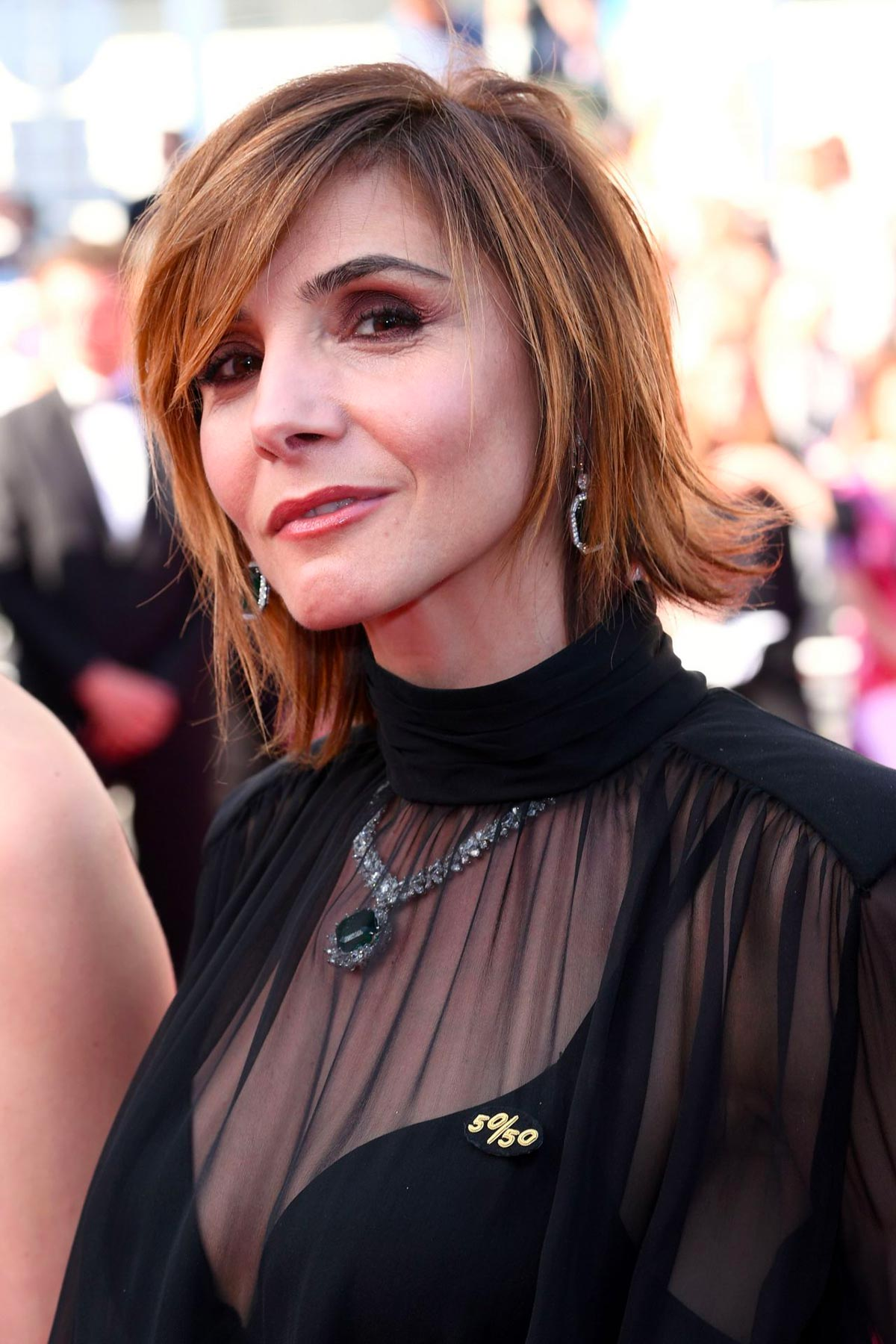Cannes 2018 - Girls of the Sun Premiere - Clothilde Courau - Hair and makeup Massimo Serini