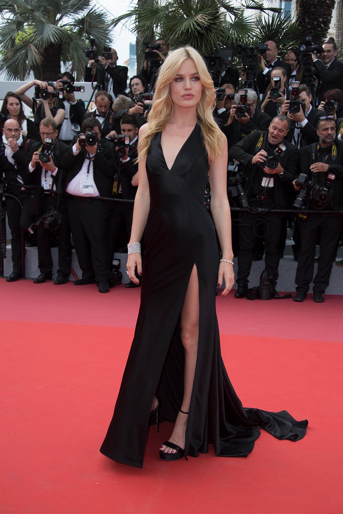 Cannes 2018 - Red carpet - Georgia May Jagger - Hair Massimo Serini