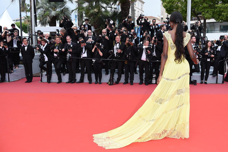 Cannes 2018 - Red carpet - Leomie Anderson - Hair Massimo Serini