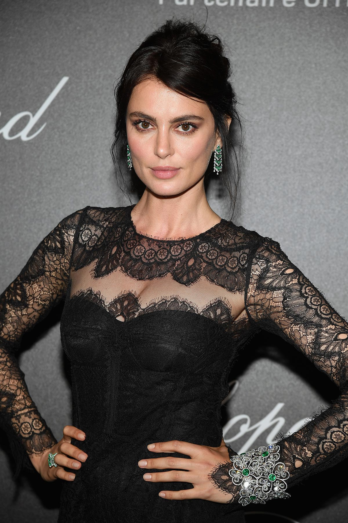 Cannes 2018 - Secret Chopard party - Catrinel Marlon - Hair and makeup Massimo Serini