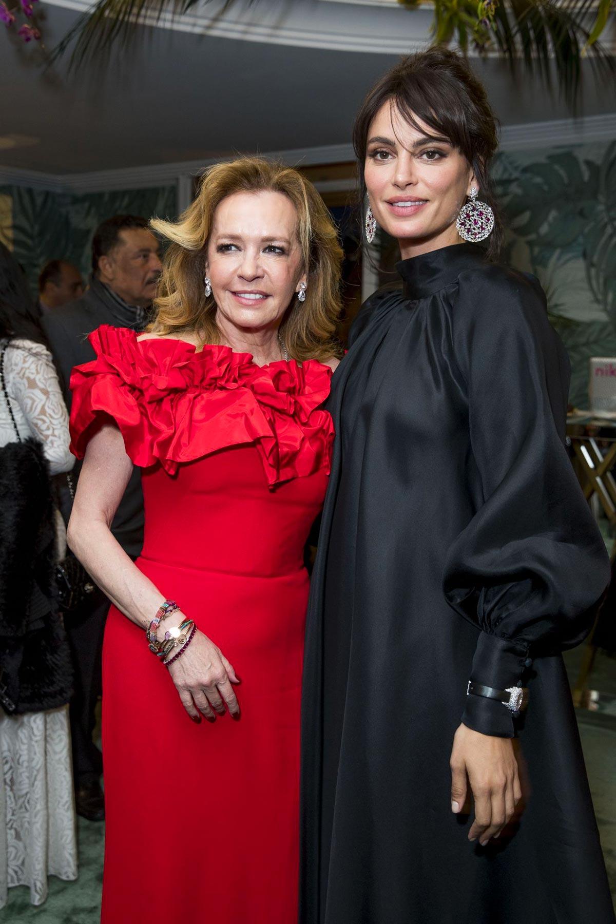 Cannes 2018 - Trophee Chopard - Caroline Scheufele and Catrinel Marlon - Hair and makeup Massimo Serini