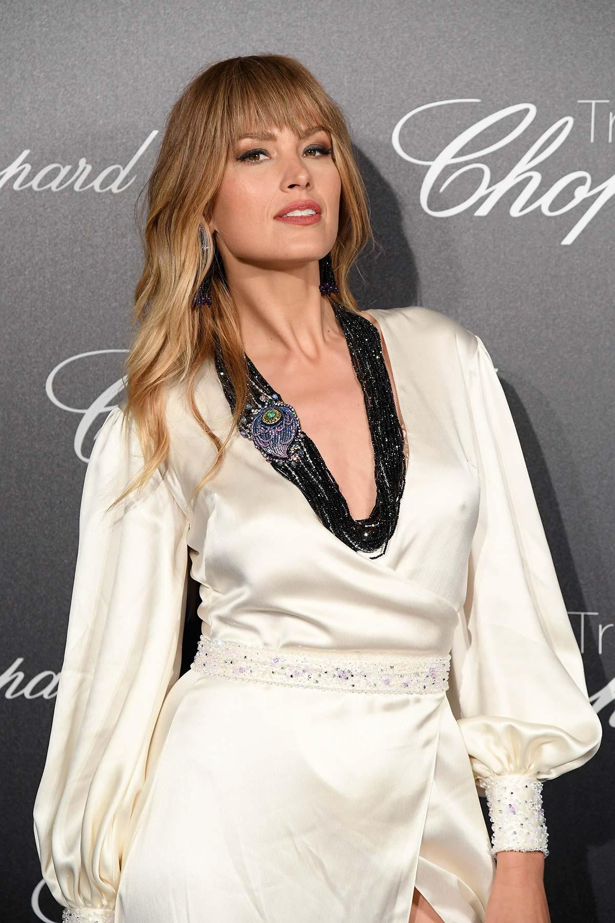 Cannes 2018 - Trophee Chopard - Petra Nemcova - Hair and makeup Massimo Serini