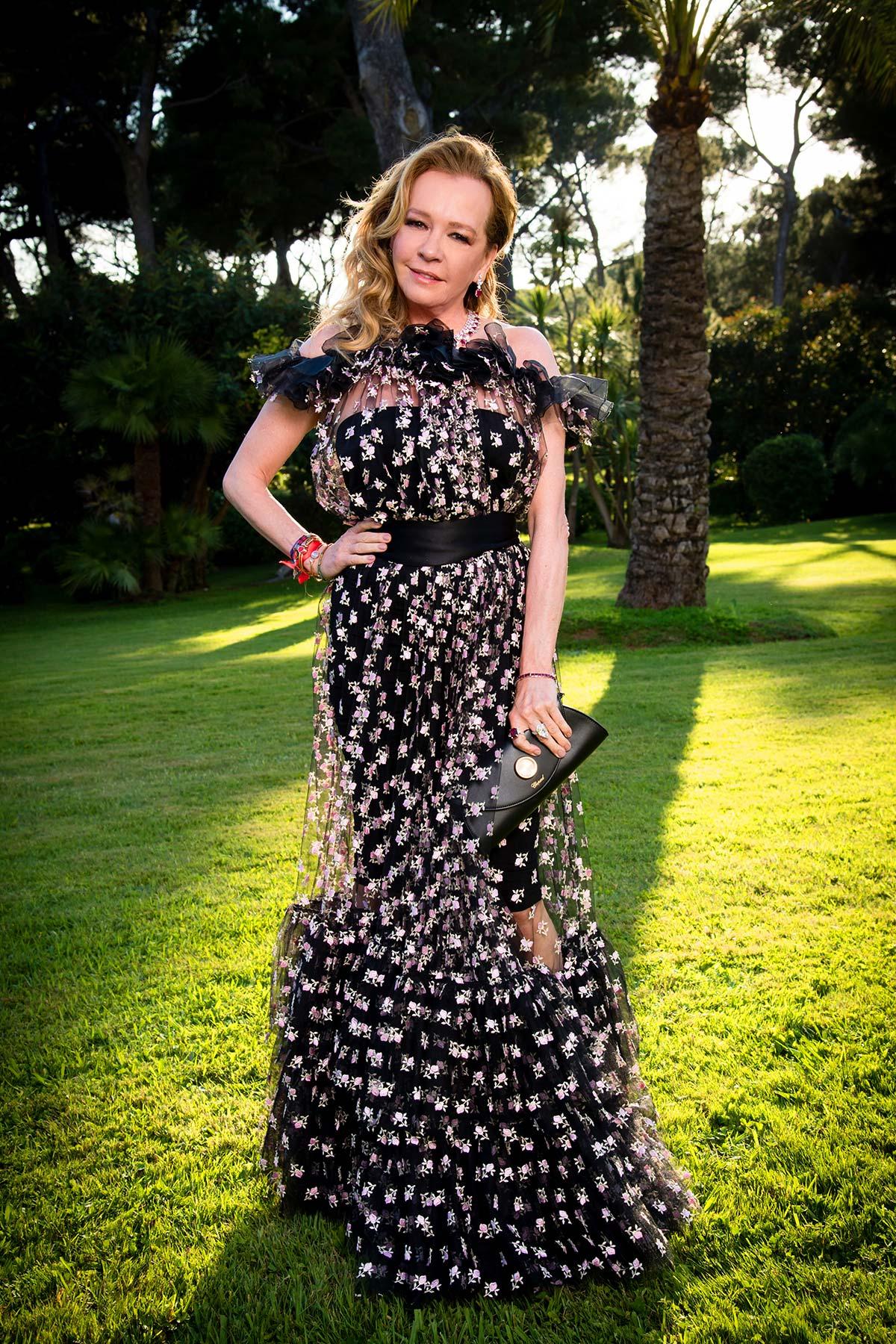 Cannes 2018 - amfAR - Caroline Scheufele - Hair and makeup Massimo Serini