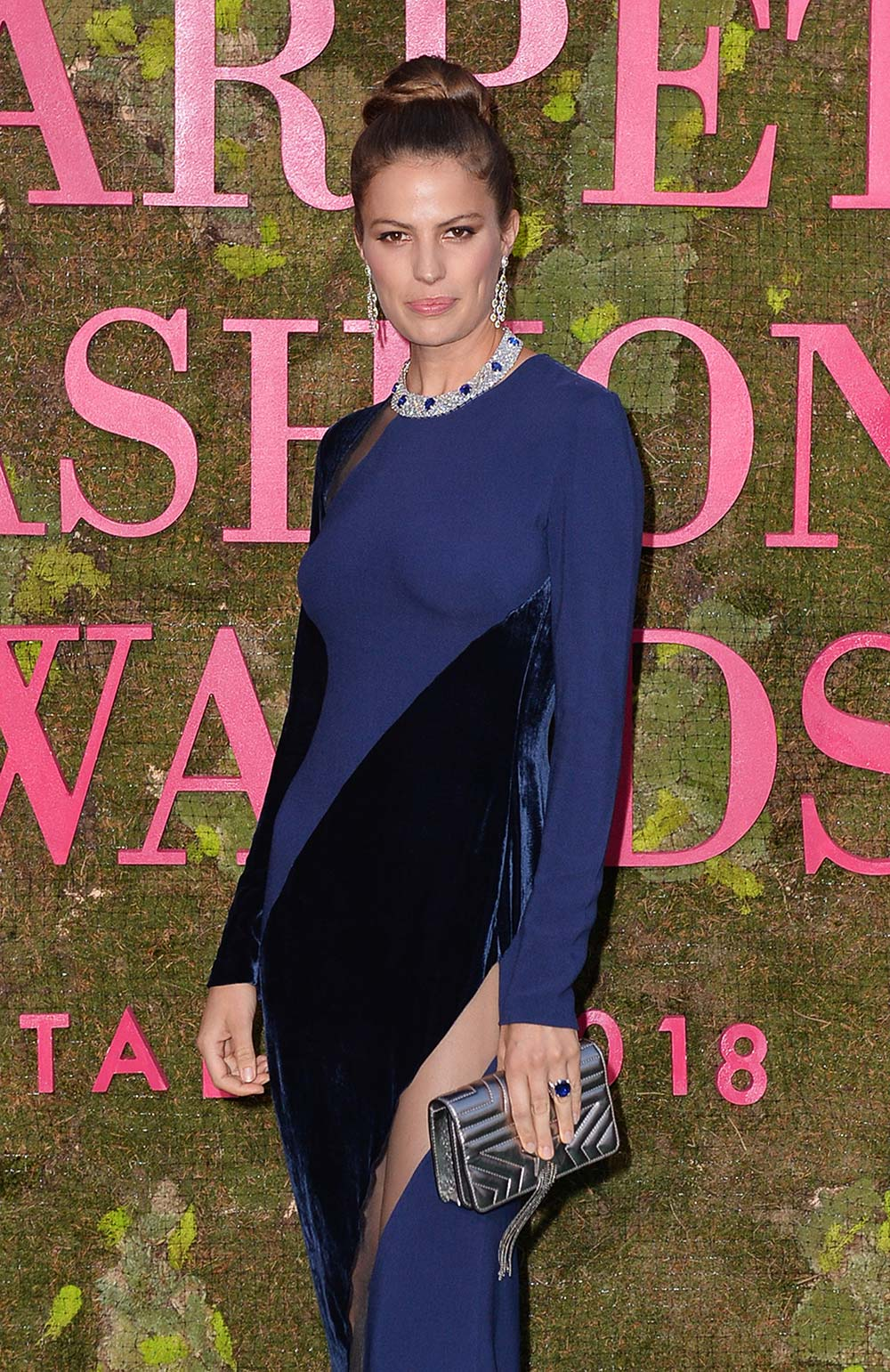 Green Carpet Fashion Awards 2018 - Cameron Russel - Hair & Makeup Massimo Serini Team