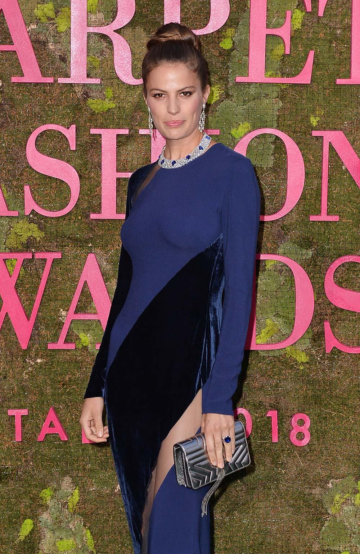 Green Carpet Fashion Awards 2018 - Cameron Russel - Hair & Makeup Massimo Serini Team
