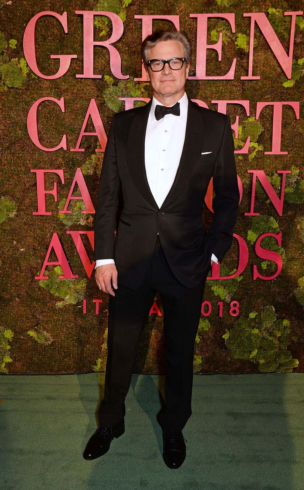 Green Carpet Fashion Awards 2018 - Colin Firth - Grooming Massimo Serini Team