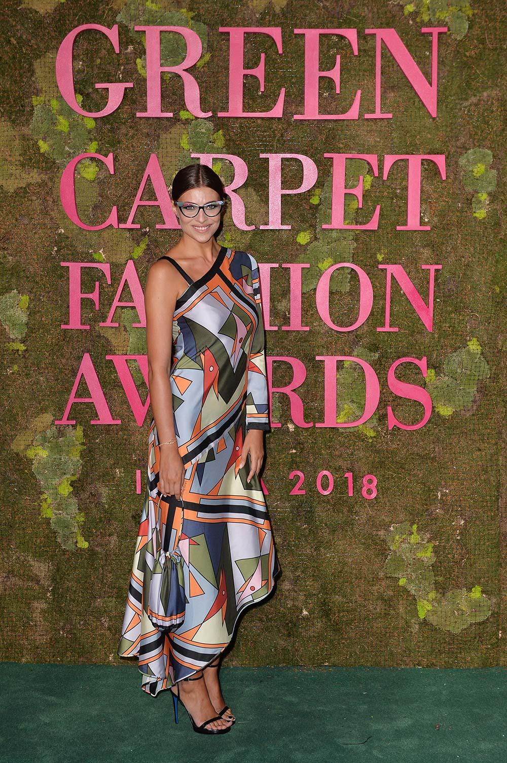 Green Carpet Fashion Awards 2018 - Cristina Chiabotto - Hair & Makeup Massimo Serini