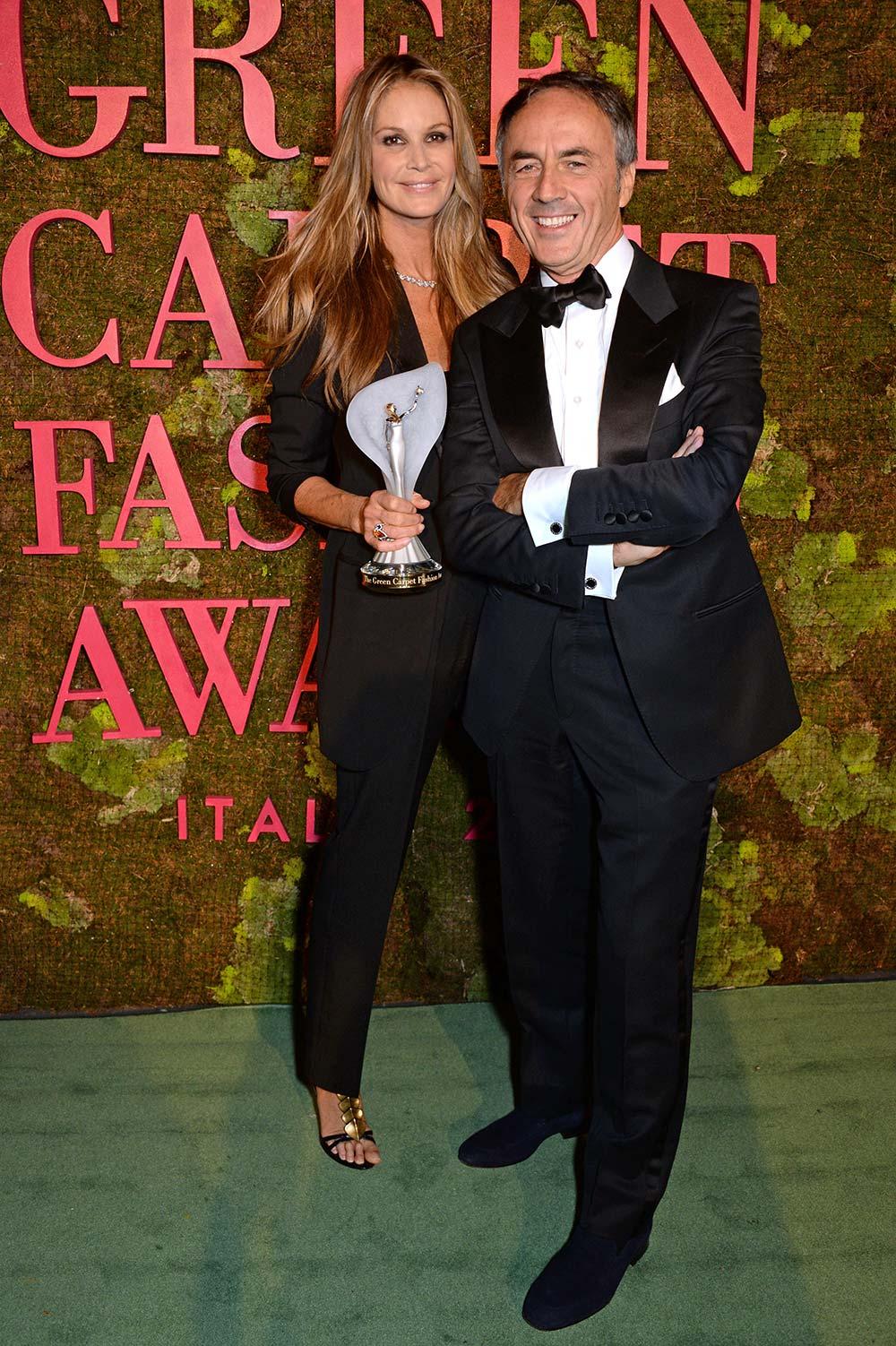 Green Carpet Fashion Awards 2018 - Elle McPherson - Hair & Makeup Massimo Serini