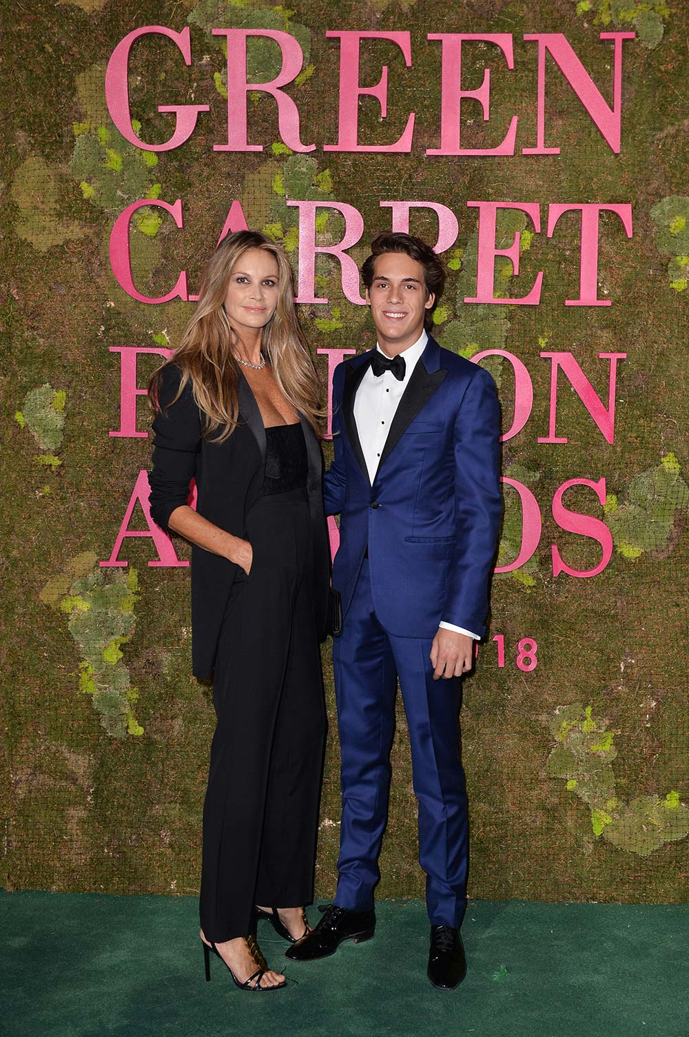 Green Carpet Fashion Awards 2018 - Elle McPherson - Hair & Makeup Massimo Serini