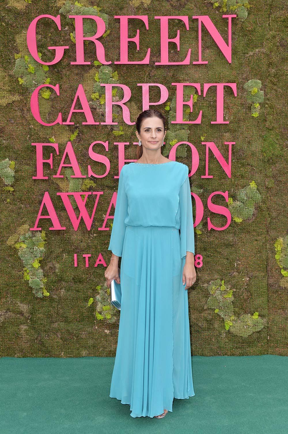 Green Carpet Fashion Awards 2018 - Livia Firth - Hair Massimo Serini - Makeup Emanuela Di Giammarco