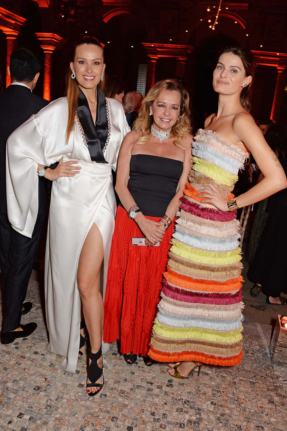 Green Carpet Fashion Awards 2018 - Petra Nemcova and Caroline Scheufele - Hair & Makeup Massimo Serini