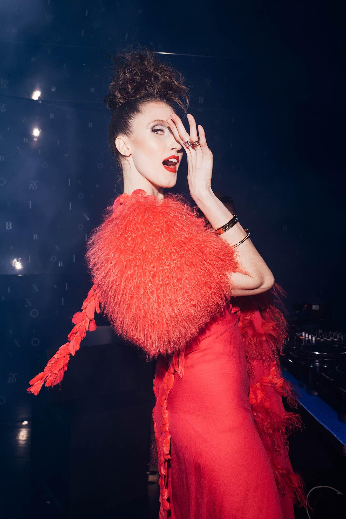 Bulgari Party B.zero1 - Anna Cleveland - Hair & Makeup Massimo Serini