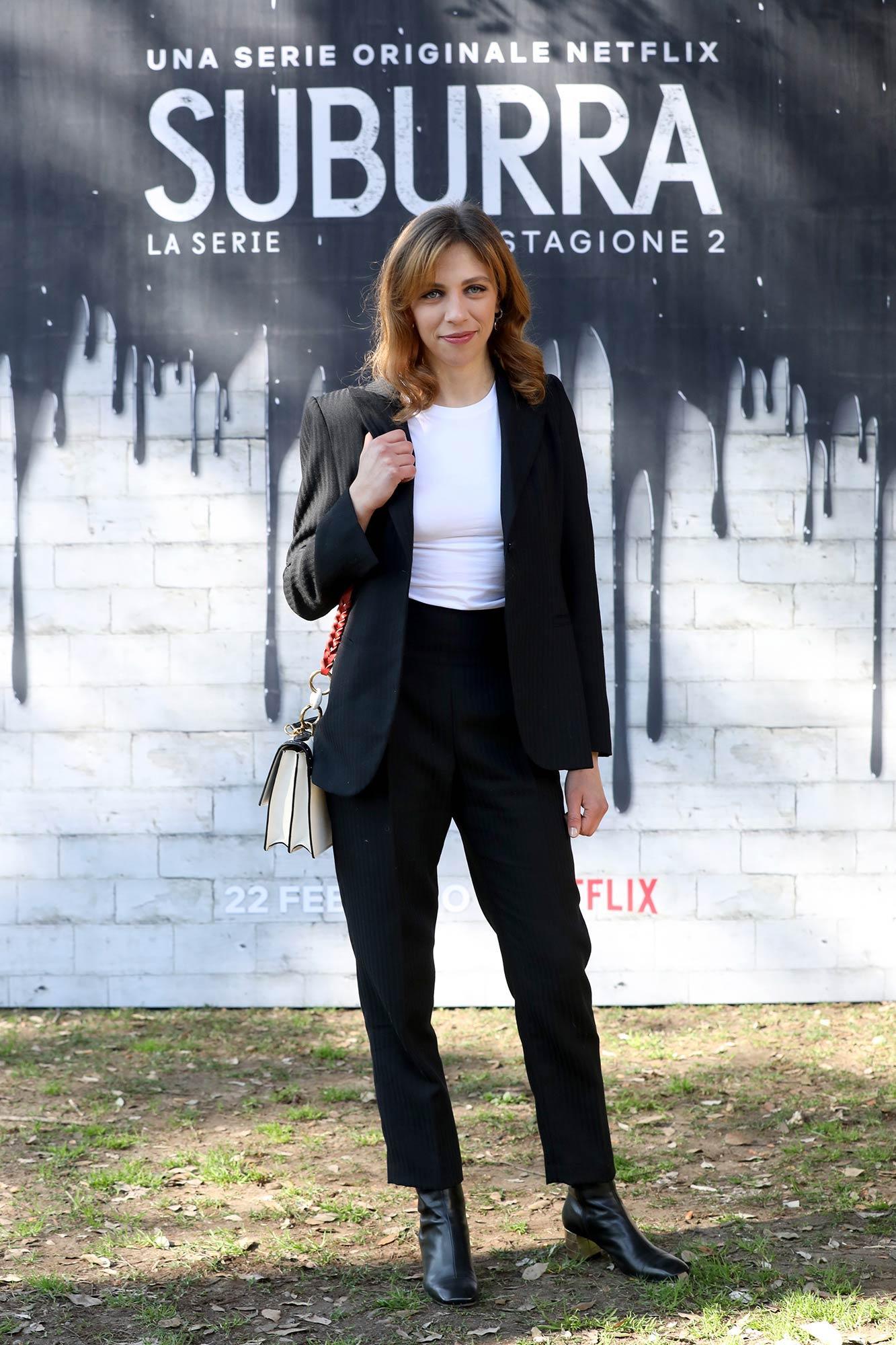 Netflix Premiere Suburra 2 - Barbara Chichiarelli - Hair & Makeup Massimo Serini Team