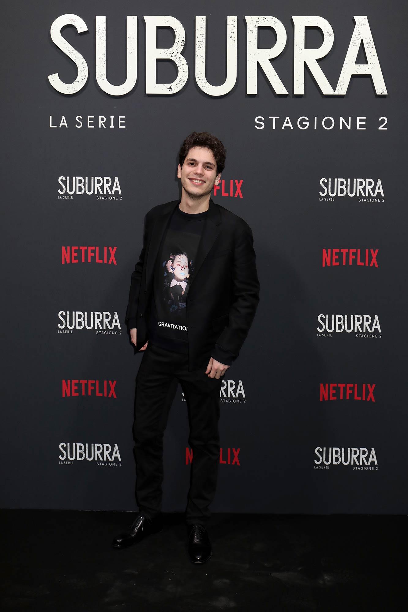 Netflix Premiere Suburra 2 - Eduardo Valdarnini - Grooming Massimo Serini Team