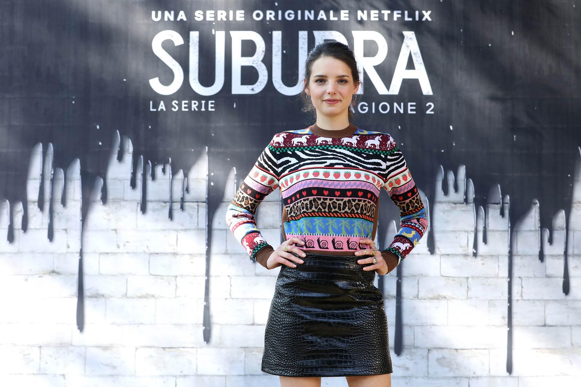 Netflix Premiere Suburra 2 - Federica Sabatini - Hair & Makeup Massimo Serini Team