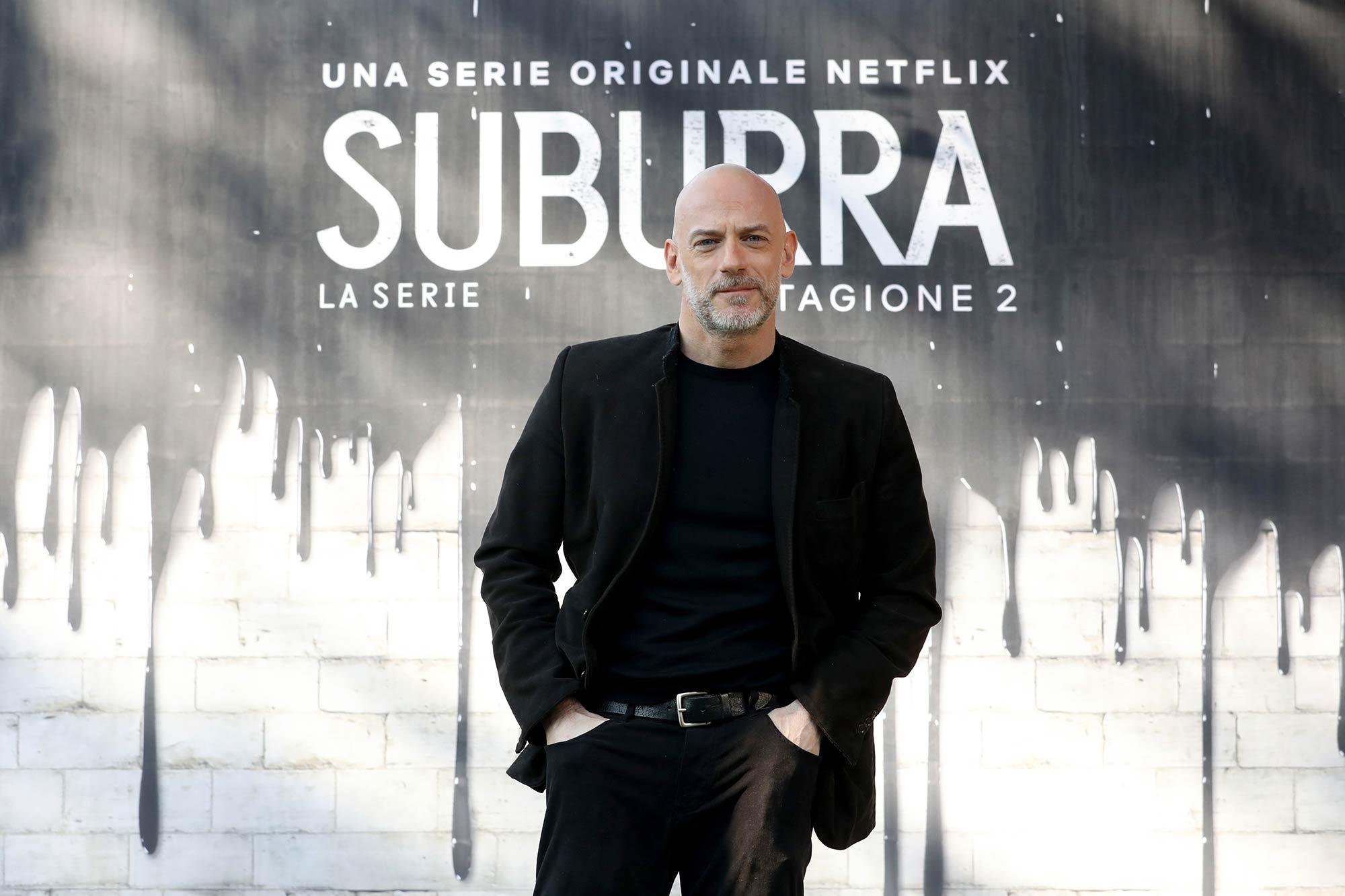 Netflix Premiere Suburra 2 - Filippo Nigro - Grooming Massimo Serini Team