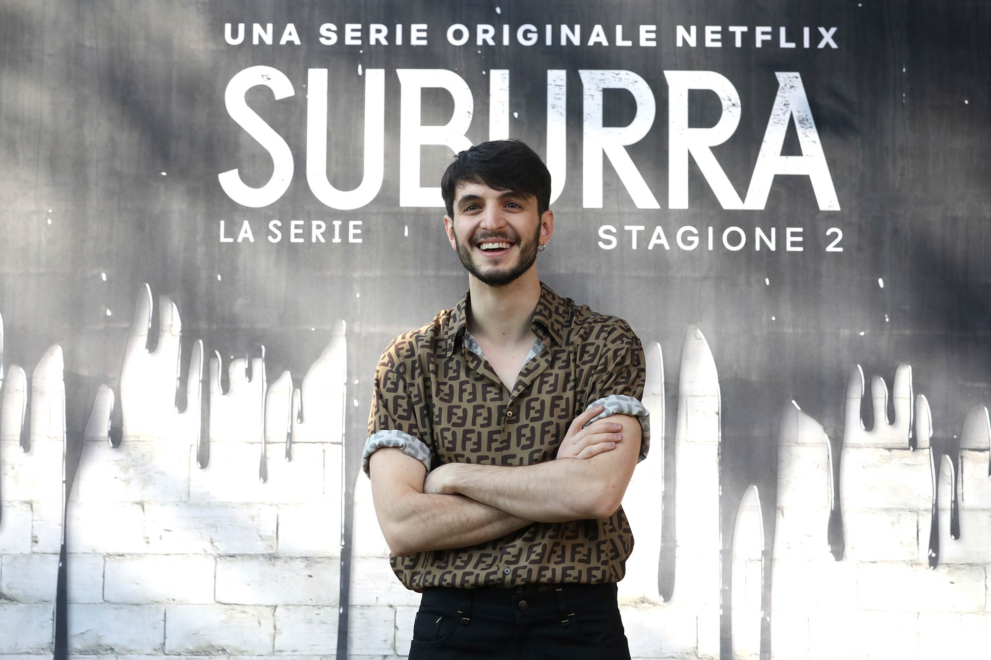 Netflix Premiere Suburra 2 - Giacomo Ferrara - Grooming Massimo Serini Team