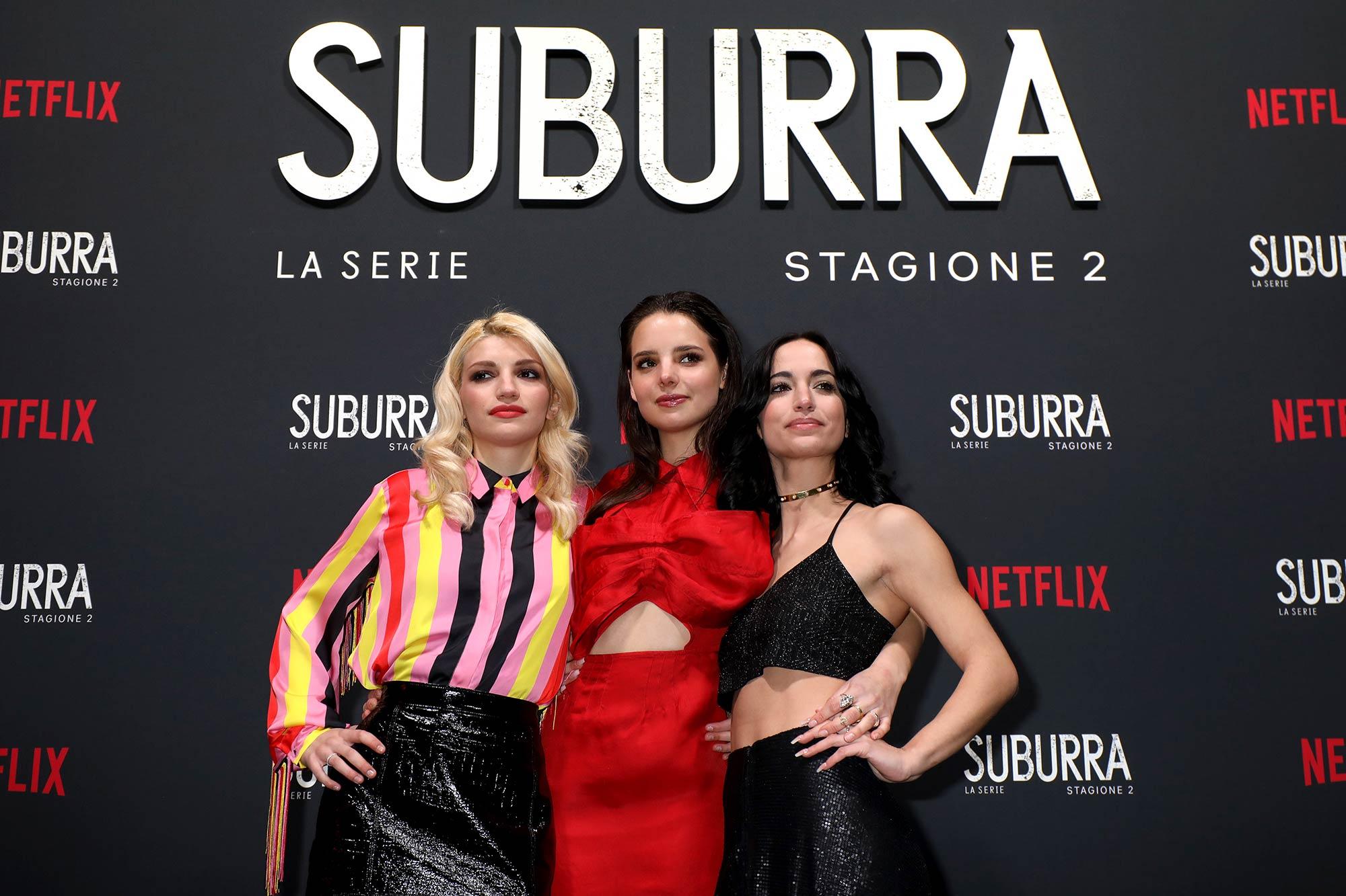 Netflix Premiere Suburra 2 - Hair & Makeup Massimo Serini Team