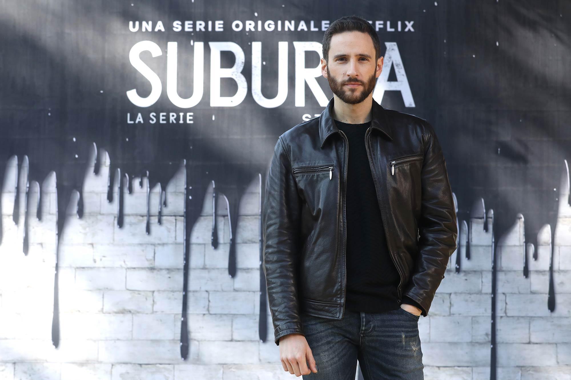 Netflix Premiere Suburra 2 - Jacopo Venturiero - Grooming Massimo Serini Team