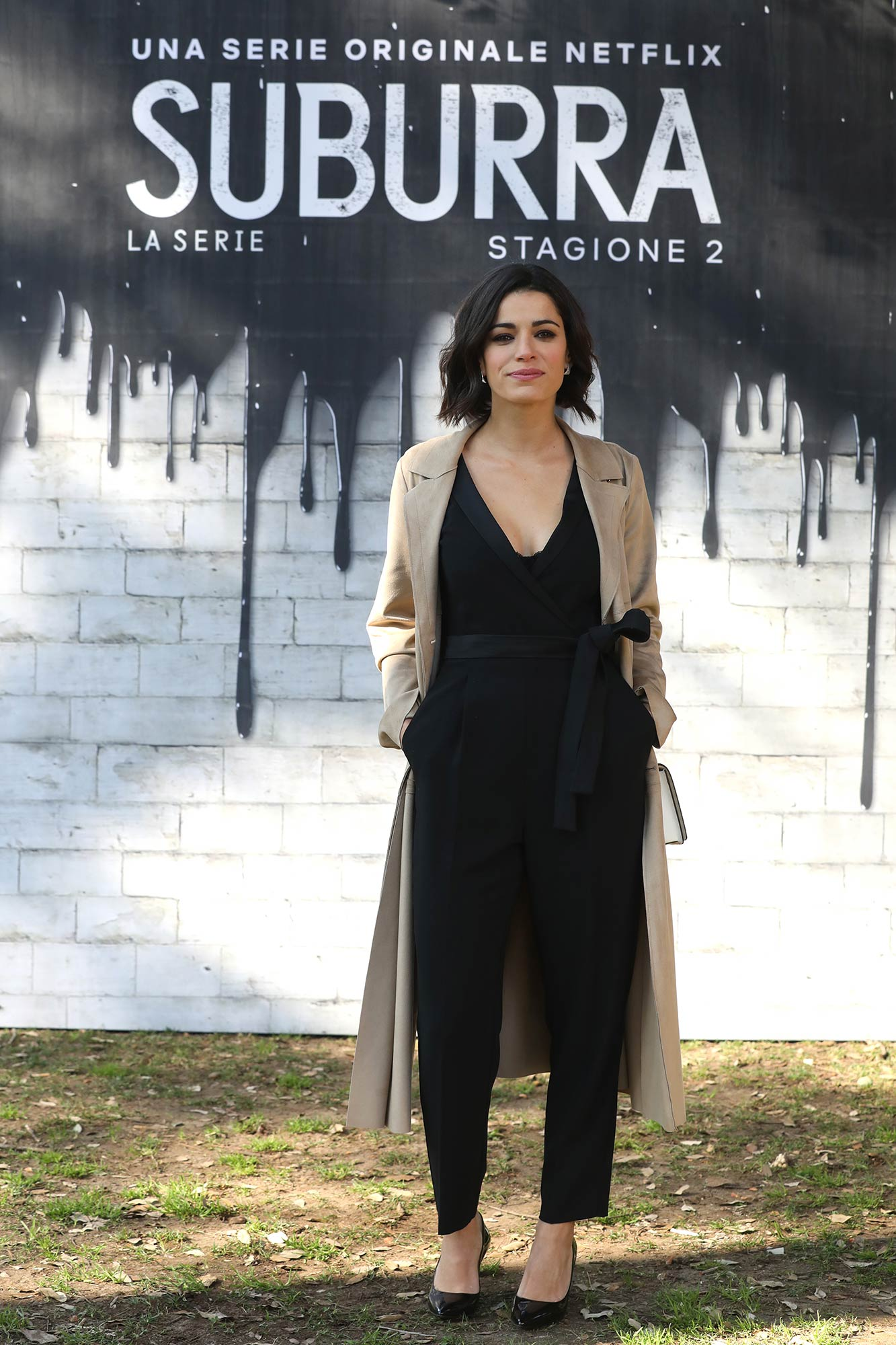 Netflix Premiere Suburra 2 - Rosa Diletta Rossi - Hair & Makeup Massimo Serini Team
