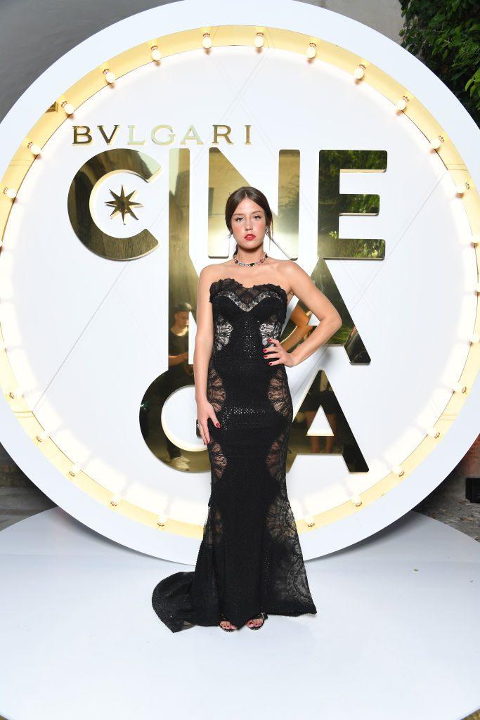 Bulgari Cinemagia - Capri 2019 - Adele Exarchopoulos - Hair Massimo Serini