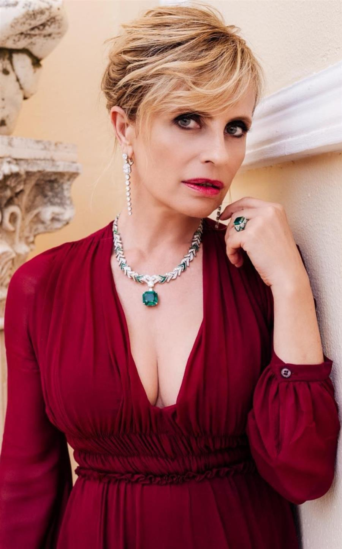 Bulgari Cinemagia - Capri 2019 - Isabella Ferrari - Hair Massimo Serini
