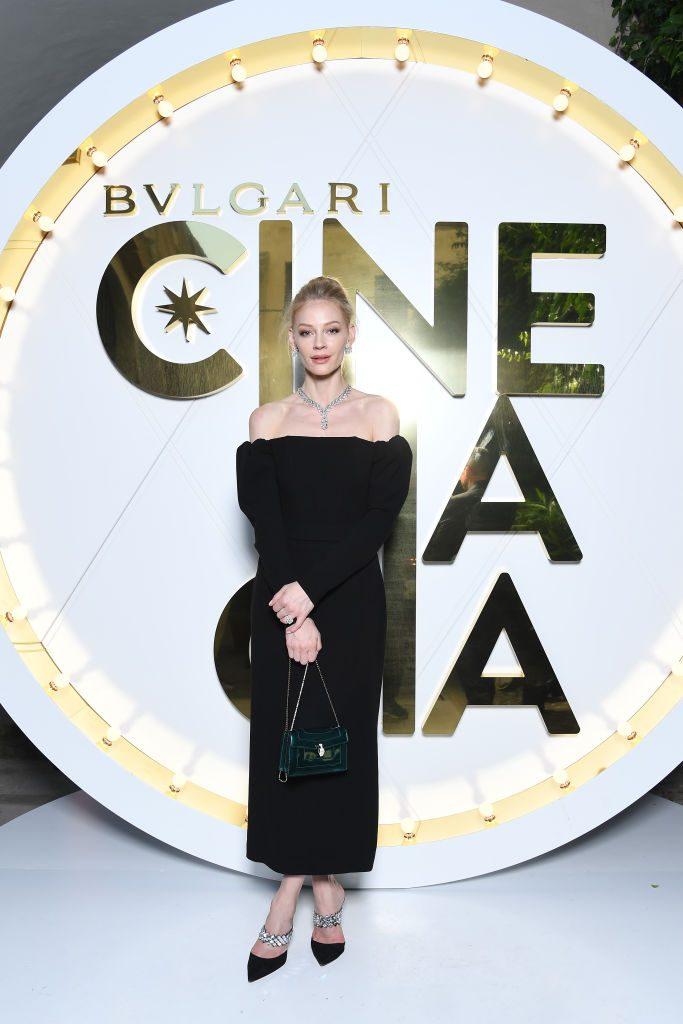 Bulgari Cinemagia - Capri 2019 - Svetlana Khodchenkova - Hair & Makeup Massimo Serini