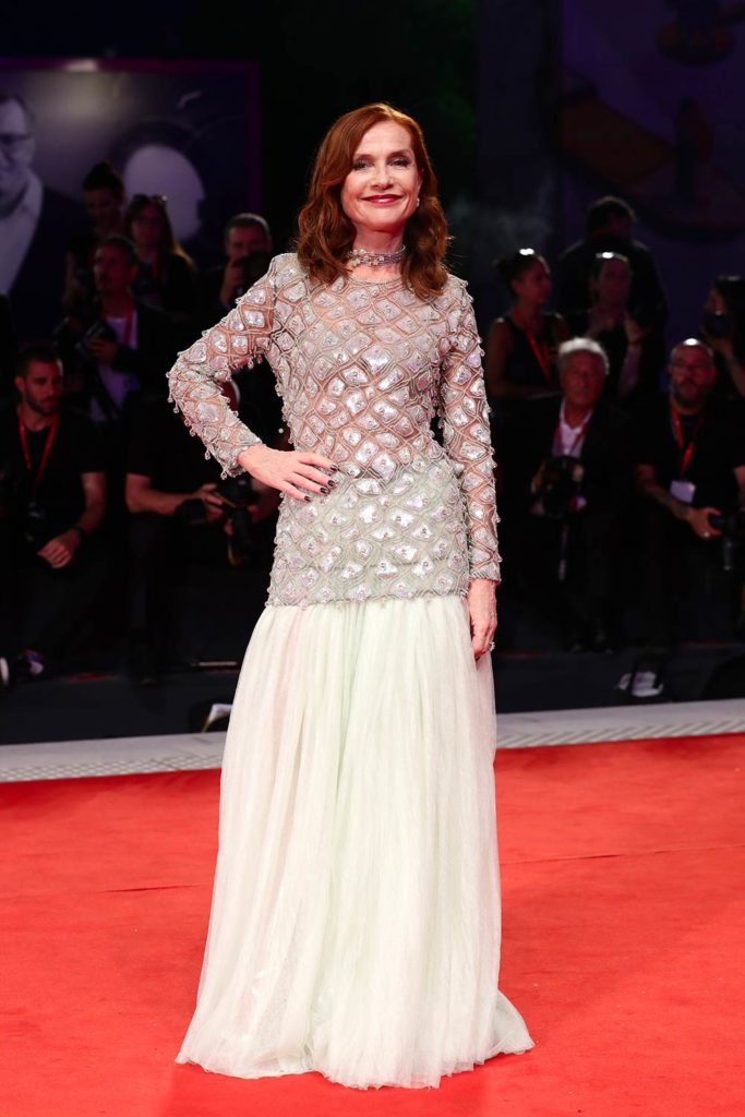 Venezia 2019 - Isabelle Huppert - Hair Massimo Serini