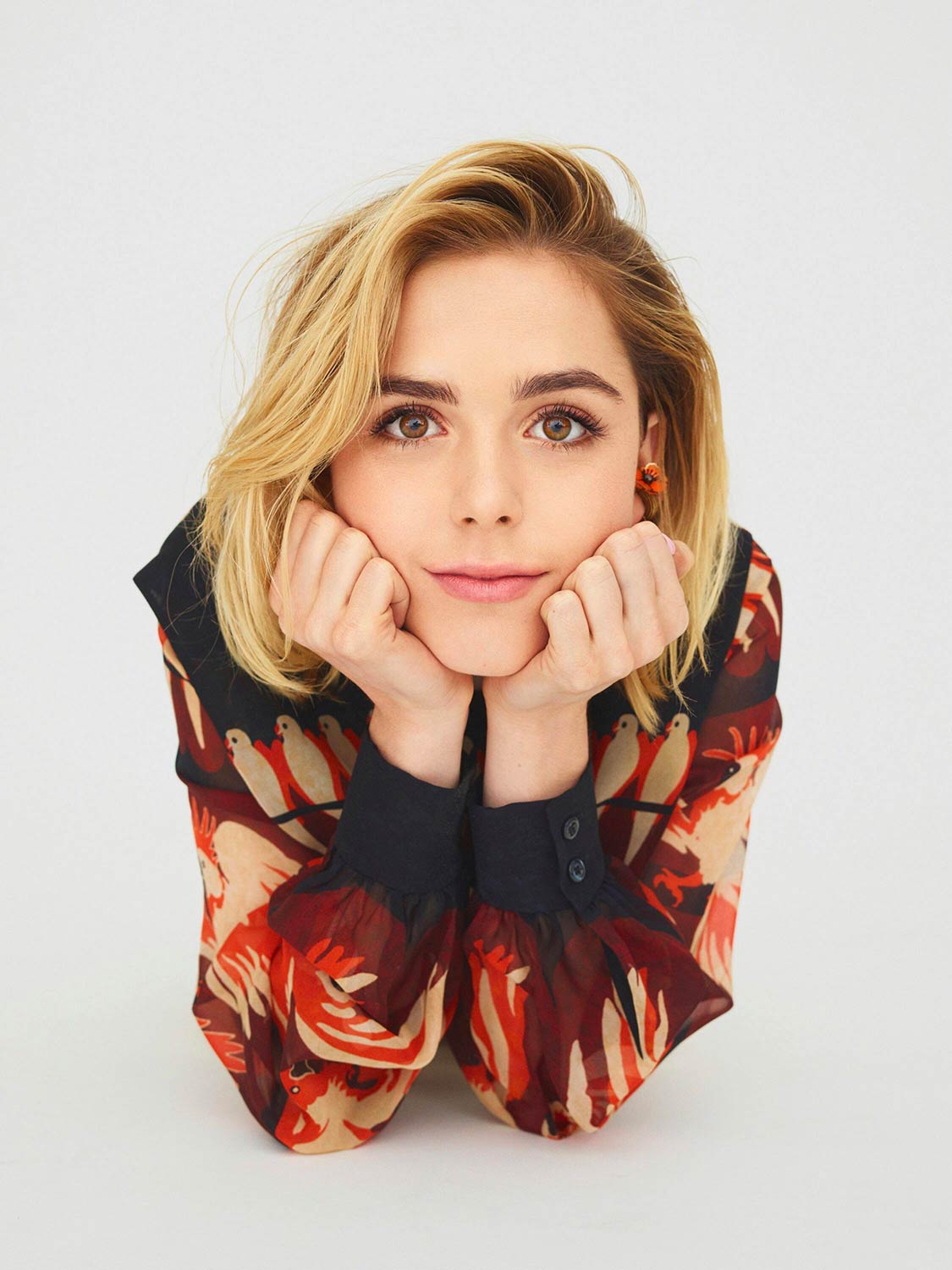 L'Officiel Paris - Kiernan Shipka - Hair and Make Up by Massimo Serini