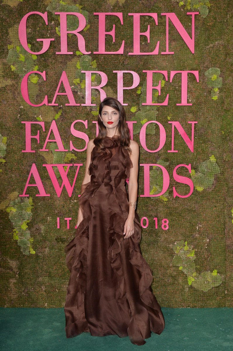 Green Carpet Fashion Awards 2018 - Anabelle Belmondo - Hair and Make Up by Massimo Serini