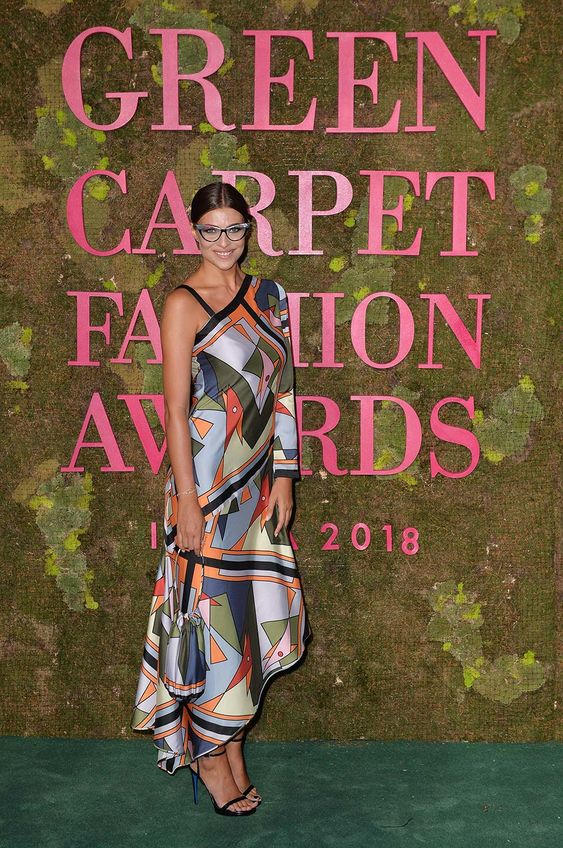 Green Carpet Fashion Awards 2018 - Cristina Chiabotto - Hair and Make Up by Massimo Serini