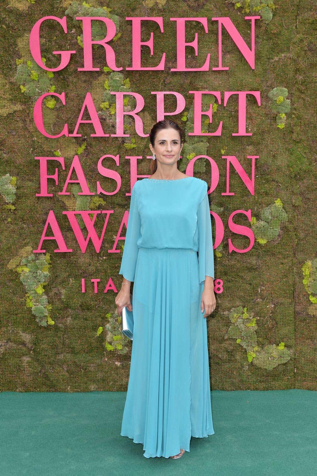 Green Carpet Fashion Awards 2018 - Livia Firth - Hair and Make Up by Massimo Serini