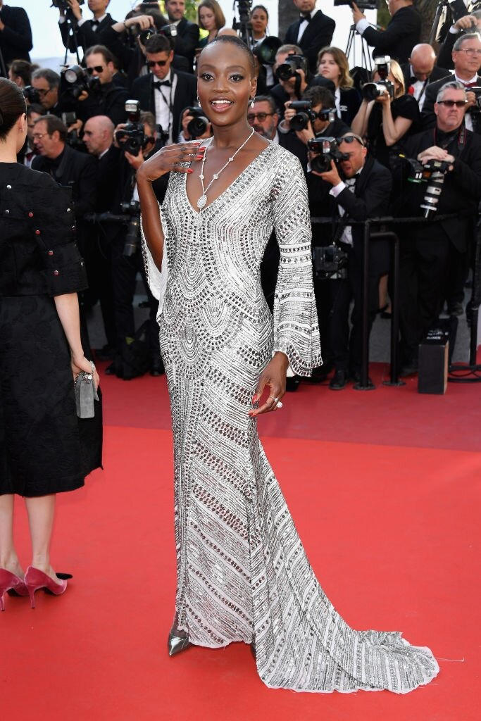 Cannes Film Festival 2017 - Miriam Odemba - Hair and Make Up By Massimo Serini