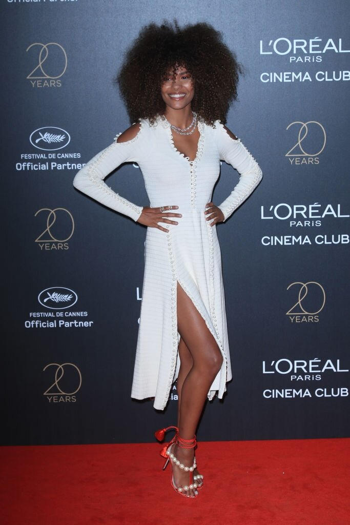 Cannes Film Festival 2017 - Tina Kunakey - Hair By Massimo Serini