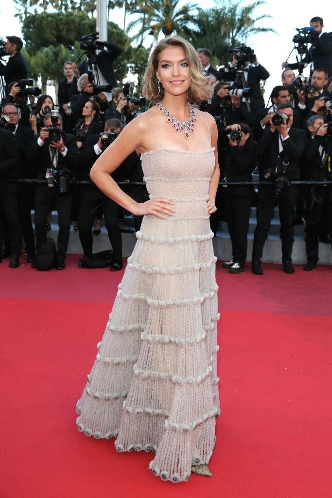 Cannes Film Festival 2018 - Arizona Muse - Hair and Make Up by Massimo Serini