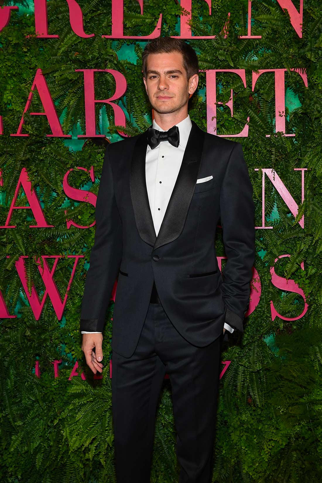 Green Carpet Fashion Awards - Milano 2017 - Andrew Garfield - Grooming by Emanuela di Giammarco for Massimo Serini