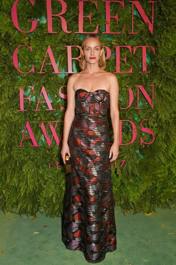 Green Carpet Fashion Awards - Milano 2017 - Amber Valletta - Hair By Massimo Serini
