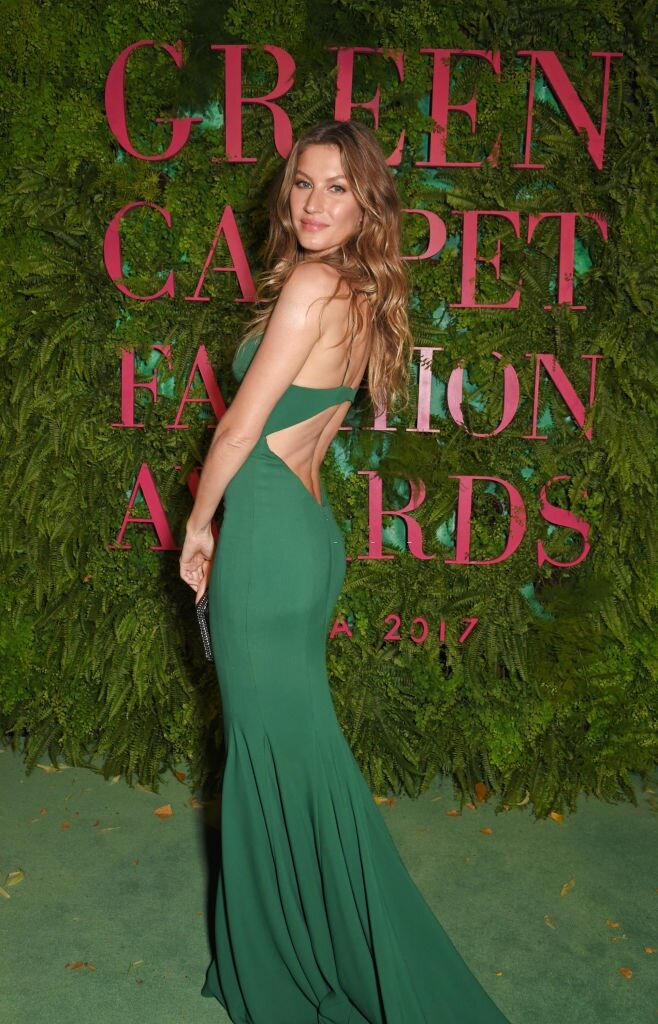 Green Carpet Fashion Awards - Milano 2017 - Gisele Bundchen - Hair By Massimo Serini