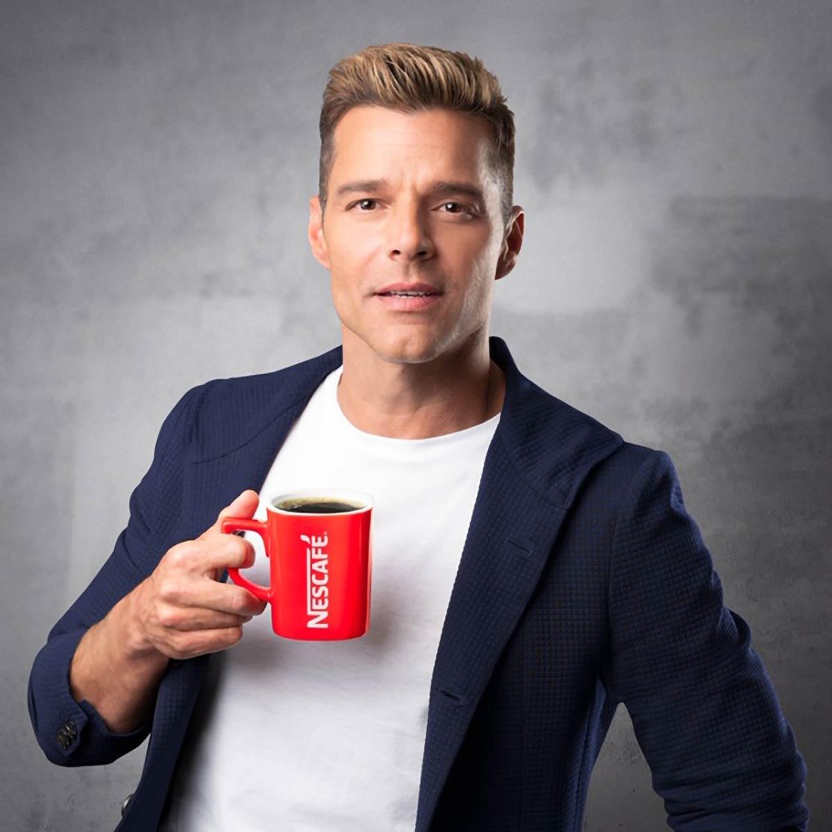 Nescafè - Ricky Martin - Grooming by Massimo Serini