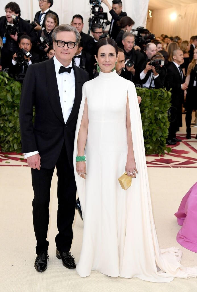 New York Met Gala 2018 - Colin and Livia Firth - Hair and Make Up by Massimo Serini