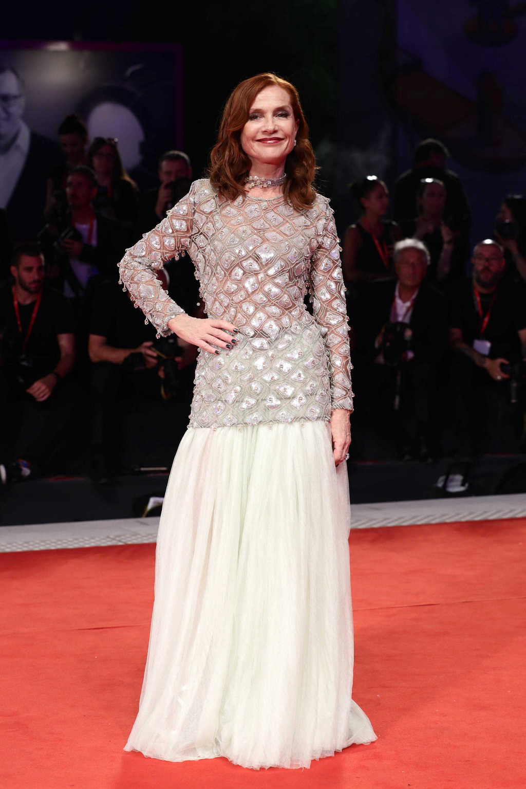 Venezia 2019 -  Isabelle Huppert - Hair by Massimo Serini