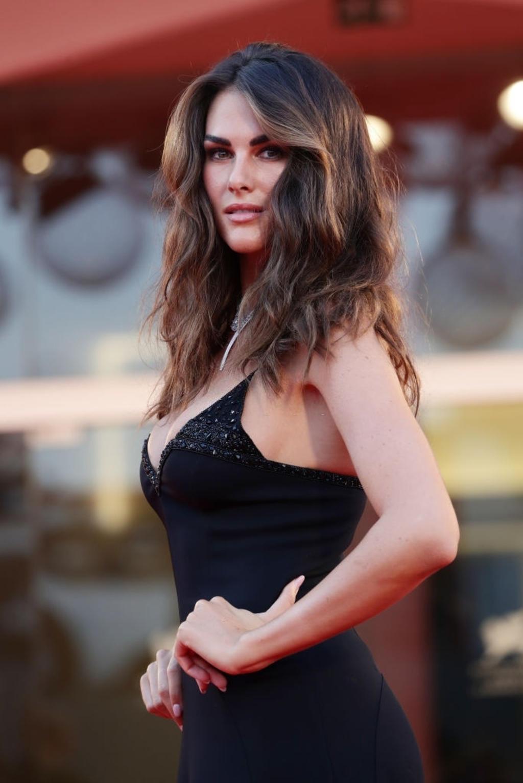 Francesca Sofia Noviello: Hair by Massimo Serini Make Up By Stanislao Iafulli - Venice Film Festival 2020