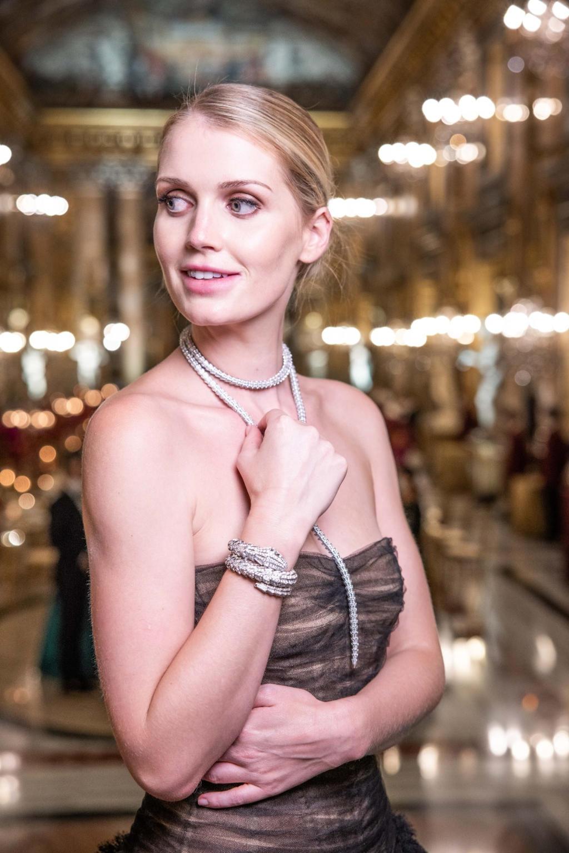 Kitty Spencer - hair Massimo Serini - Makeup Cinzia Carletti - Bulgari Barocko 2020